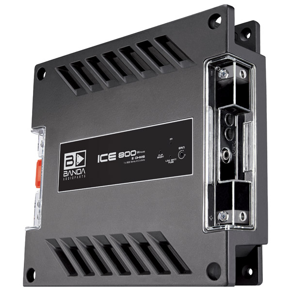 modulo amplificador banda audioparts ice   ohm frente